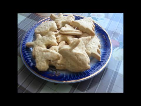 Тесто для печенья вырезать