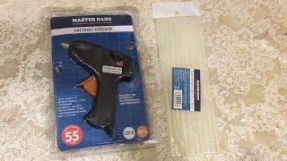 Перевірка клейового пістолета master hand з FIX PRICE, або для чого і навіщо потрібен клейовий пістолет