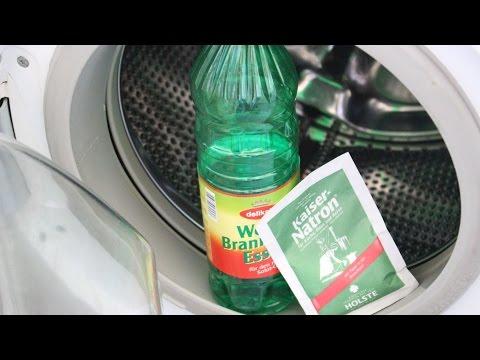 Wundermittel für die Waschmaschine - Emperor soda & vinegar miracle for the washing machine