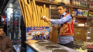 ο παγωτατζής στην Κωνσταντινούπολη