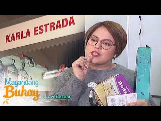 Magandang Buhay: Momshie Karla and Ruffa Mae's booth