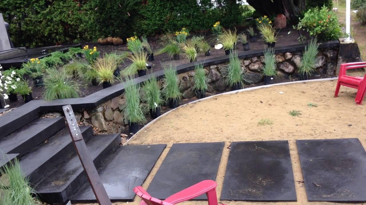 soumission projet am nagement paysager moderne youtube. Black Bedroom Furniture Sets. Home Design Ideas