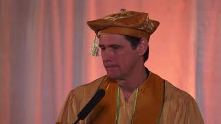 Jim Carrey   Graduation Talks about the importance of choosing Love over Fear