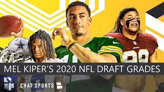 Mel Kiper's 2020 NFL Draft Grades For All 32 Teams