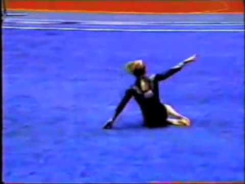 Jenny Hansen - 1994 NCAA Event Finals - Floor Exercise