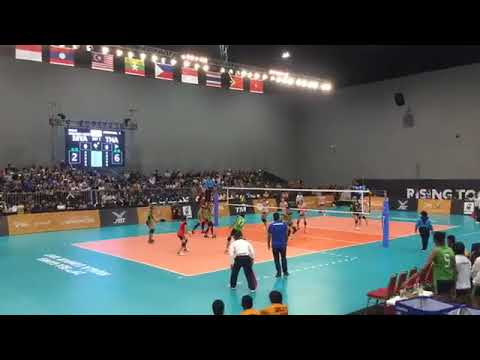 Thailand vs Myanmar | 24 August 2017 | Volleyball Women's 29th SEA GAMES
