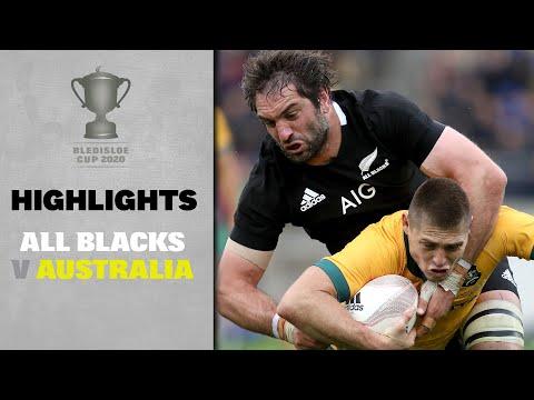 HIGHLIGHTS: All Blacks V Australia (Wellington)