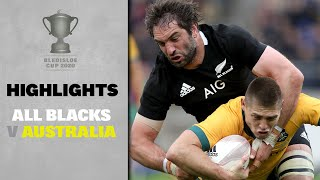 HIGHLIGHTS: All Blacks v Australia (Wellington)