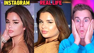 People Who Got Exposed On The Internet.. (IG Vs. Reality)