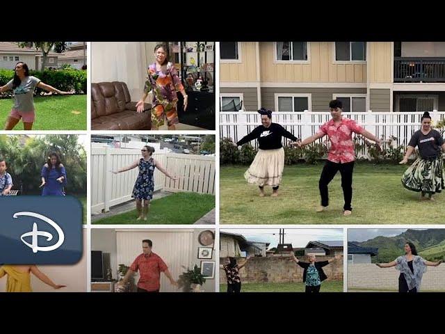 Aulani Resort Cast Members Share #HulaFromHome | #DisneyMagicMoments