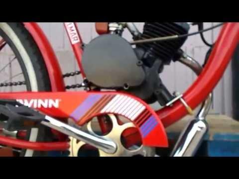 Basic Clutch Adjustment on 48cc 2 stroke Chinese motorized bike