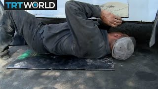 The War in Syria: Displaced mobile mechanic builds new life