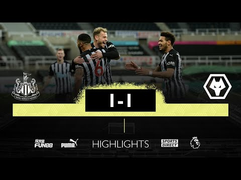 Newcastle United 1 Wolves 1 | Premier League Highlights