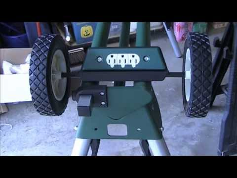 Masterforce Rolling/Universal Miter Saw Stand (Assembly Required)