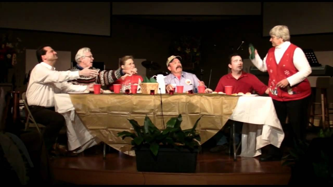 GCFC Christmas 2010 - Dysfunctional Family Christmas Dinner - YouTube