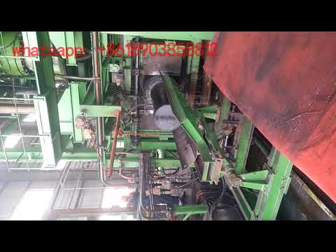 graphite electrode producing video