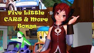 Five Little Car & More Songs | Kids Songs | Nursery Songs | Baby Songs | Children Songs