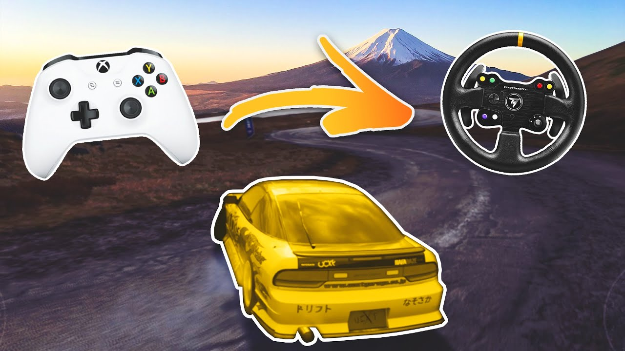 Download When a PRO controller DRIFTER uses a STEERING WHEEL (Forza Horizon 4)