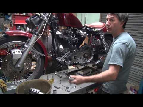 1972 ironhead #101 xl xlch case repair motor rebuild harley sportster by tatro machine