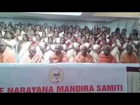 """Daivame Kathu Kolka""Daiva Dashakam recital by the Women's wing of SNMS, Mumbai"