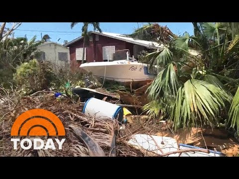 Florida Keys Looks Like A 'War Zone' In Wake Of Hurricane Irma | TODAY