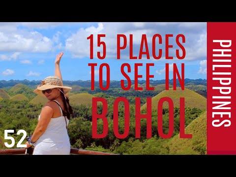PLACES TO SEE IN  BOHOL , PHILIPPINES  TRAVEL VLOG #52