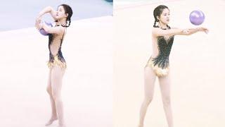 จ้าวลู่ซือโชว์ยิมนาสติก ในงานกีฬาสีไอดอล iQiyi   14 ก.ค 2019   Zhaolusi   จ้าวลู่ซือ 赵露思 Thailand