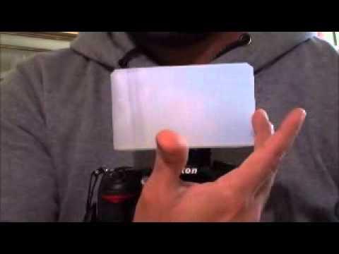 Best $0 DIY Pop up Flash Diffuser