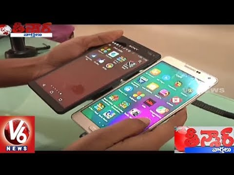 Mobile Connections Has Crossed The Population Count In Telangana   Teenmaar News