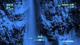 SSX avalanche snow