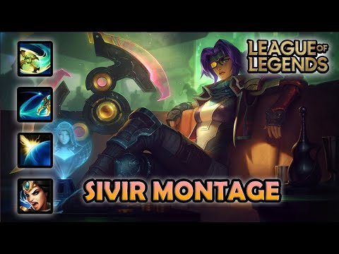 SIVIR MONTAGE - Best Plays | Odyssey Sivir Skin | League of Legends