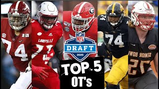 2020 NFL Draft Prospect Rankings: Offensive Tackles | Blitzalytics Top 5 Draft Prospect Series