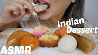 ASMR Indian Dessert | Eating Sounds | N.E Let's Eat