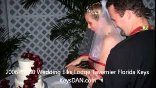 2006 12 30 Wedding Elks Lodge Tavernier Florida Keys KeysDAN com
