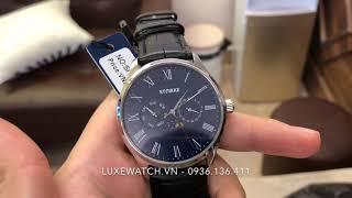 Đồng hồ Starke SK068PM mặt xanh