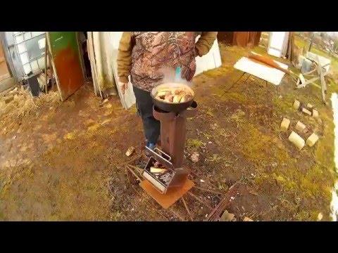 Ракетная чудо печка