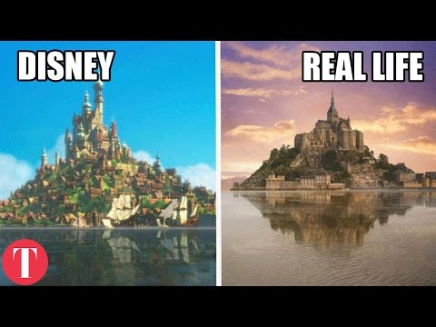 10 Disney Movie Locations That Exist In Real Life