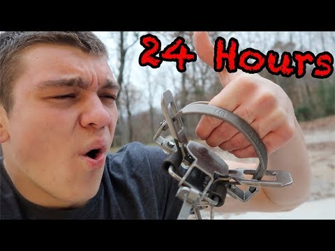 HAND IN STEEL TRAP 24 HOUR CHALLENGE!