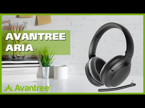 Bluetooth Noise Cancelling Headphone With 35 Hours Battery - Aria [2019 NEW]
