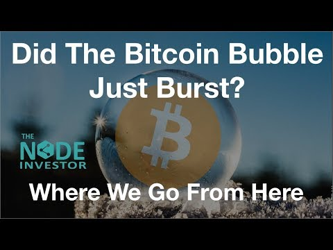 Did The Bitcoin Bubble Burst?  New Highs Or A New Low First?