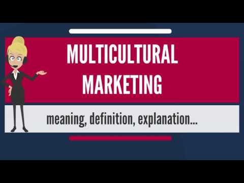 What is MULTICULTURAL MARKETING? What does MULTICULTURAL MARKETING mean?