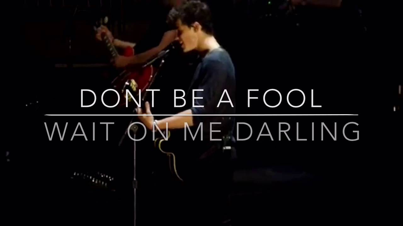 Don T Be A Fool Lyrics Shawn Mendes Youtube