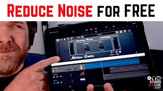 How to remove NOISE from VOCAL recordings in GarageBand iOS
