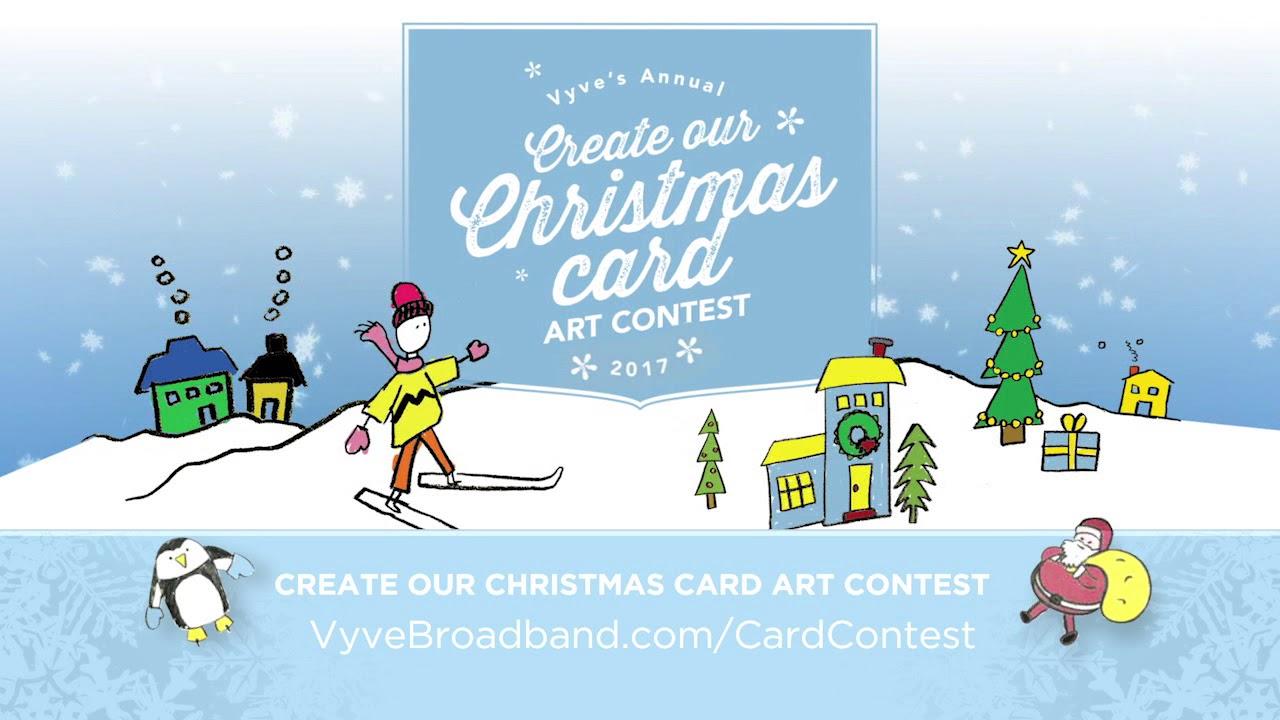 Vyve 2017 christmas card art contest youtube vyve 2017 christmas card art contest kristyandbryce Image collections