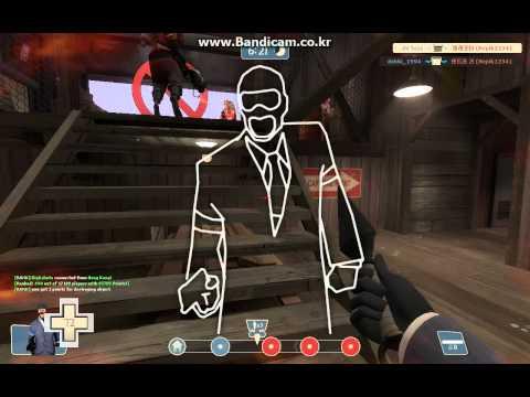 tf2  spy kunai  game play |