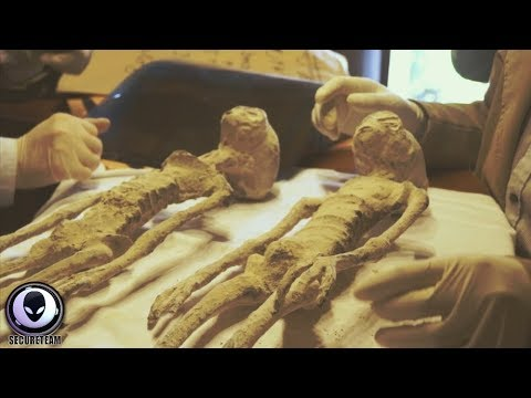 Shocking DNA Of Alien Mummy Revealed 9/29/17