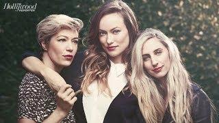 Olivia Wilde, Makeup Artist Melanie Inglessis and Hairstylist Mara Roszak