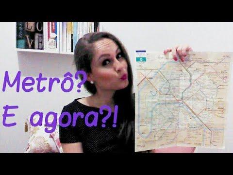 PARIS: ENTENDENDO O MAPA DO METRÔ