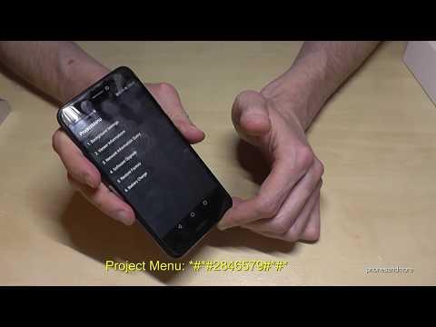 Huawei P8 Lite 2017: Some Secret Codes (Phone Test)