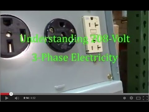 [ZTBE_9966]  Episode 11 208 Volts, 3 Phase - YouTube | 208v Plug Wiring Diagram |  | YouTube